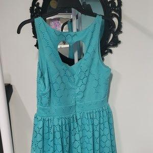Trixxi Dresses - Lace dress with heart detail